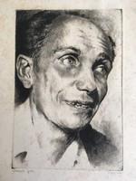Derkovits Gyula portré