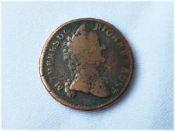Mária Terézia 1 Krajcár 1762 N.B. - NAGYBÁNYA ! RITKA !