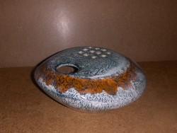 Iparművész kerámia ikebana váza 22*24 cm (14/d)