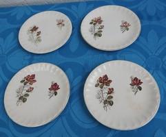 Antik Sarreguemines süteményes tányér készlet