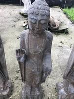 Régi márvány keleti -buddha szobor