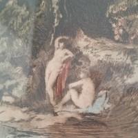 Herman Lipót : Fürdőző nimfák,