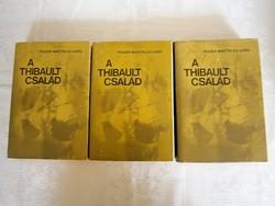 R. M. Du Gard: A Thibault család 1-2-3 könyvek