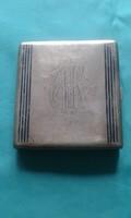 Antik ezüst cigarettatárca az 1930- as évekből eladó.