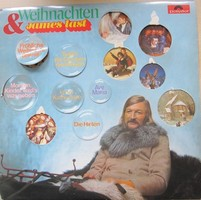 James Last - Weihnachten & James Last (LP, Album)