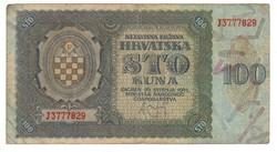 100 kuna 1941 Horvátország