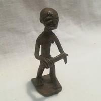 Réz vagy bronz figura , szobor