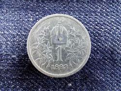 Ezüst 1 Corona 1893/id 9154/