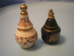 Ú 9 Parfümtartók 2 db egyben eladóak,porcelán