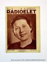 1936 július 10  /  Rádióélet  /  Régi ÚJSÁGOK KÉPREGÉNYEK MAGAZINOK Szs.:  9262