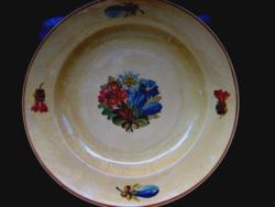 Antik gyopáros,enciános fali tányér