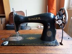 Singer öntöttvas, mechanikus varrógép eladó