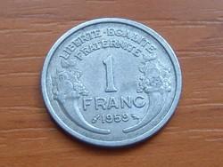 FRANCIA 1 FRANC FRANK 1959  ALU.