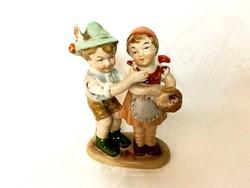 Bertram bájos gyerekpáros, 12 cm, hibátlan