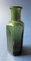 """Háború előtti orvosságos üveg """" külsőleg"""" N015"""