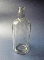 Régi vegyszeres, orvosságos üveg N013