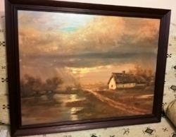 Tóth János gyönyörű festménye 90*70
