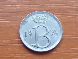 BELGIUM BELGIQUE 25 CENTIMES 1974