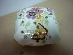 Zsolnay pillangómintás bonbonier