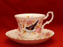 Royal Albert erdei sorozat madaras szépsége. Teás szett