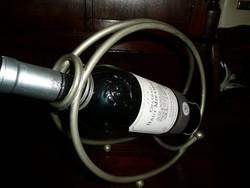 Régi Art Deco fém bor kiöntő / bor tartó hibátlan állapotban