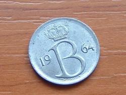BELGIUM BELGIE 25 CENTIMES 1964