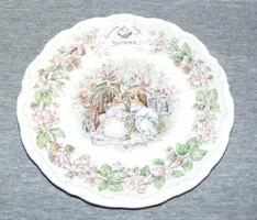Angol Royal Doulton Brambly Hedge tányér
