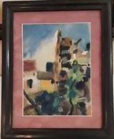 Bartha László akvarell