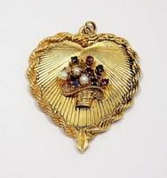 Köves arany medál (ZAL-Au59649)