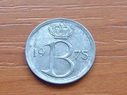 BELGIUM BELGIQUE 25 CENTIMES 1975