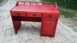 Bonanza íróasztal - masszív retro íróasztal