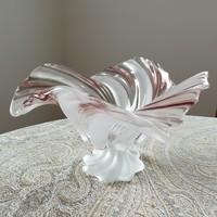 Murano kínáló, vitrinállapot, 32 x 17 cm