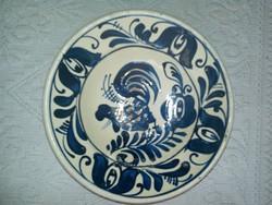 Korondi  kakasos falitányér, tányér