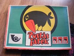 Postás játék - retro társasjáték