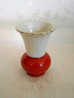 Nagyon szép Seltmann Weiden porcelán váza 7 cm magas