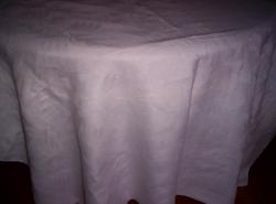 155x125 cm fehér damaszt abrosz 31.sz.X