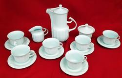 Art-deco teáskészlet 6 személyes