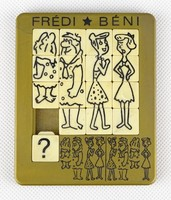 0X188 Retro Frédi és Béni Tili-Toli játék