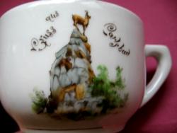 Antik Carlsbad emlék csésze ritkaság
