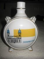 Drasche   , Debrecen  ,  emlék kulacs  11 x 15 cm