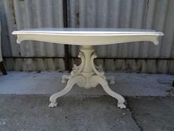 Vintage asztal, kézi festés.