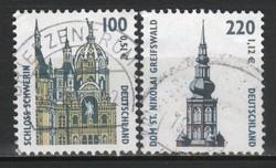 Pecsételt Német 0059 Mi  2156-2157    4,00 Euró