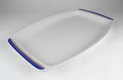 0X138 Aranyozott Alföldi porcelán kínáló tál 38 cm