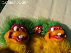 Vicces szörny család Confetti Tivi
