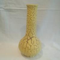 Jelzett retro iparművész kerámia váza 20,3 cm