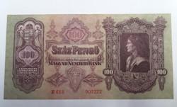 100 pengő 1930 unc.