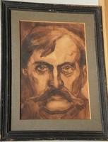Sztriha Sándor (1883 - ) : Férfiportré