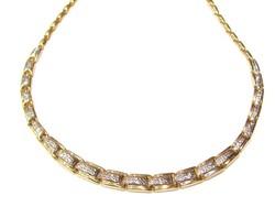 Arany női nyakék(Szeg-Au81762)