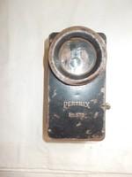 2 világháborús német színváltós pertrix 678  zseblámpa