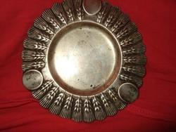 Antik ezüst hamuzó
